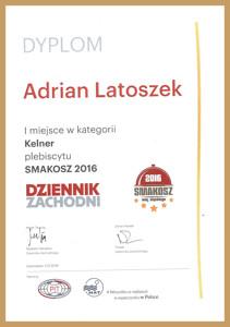 Dyplom Adriana Latoszka Miniaturka